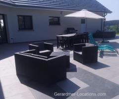 Liezey - Maison neuve 8personnes-6pieces-4chambres-200m2-cuisine équipée-sauna, Spa, terrasse