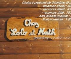 Le Tholy - Chalet 8 pers. - chez Lolo et Nath
