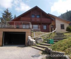 La Bresse 3min. pistes ski - Chalet SAMEVA 10 pers. 4 Ch. - 3 Salles d'eau - Garage