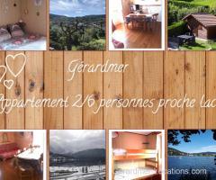 Gérardmer - appartement T2 proche lac avec espace exterieur privatif