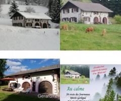 Gerbépal - Ferme au calme pour 8 personnes